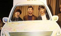 3人の男子高校生の珍道中を描く
