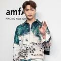 韓国の人気男性アイドルグループ「EXO(エクソ)」のメンバー、レイこと張芸興さん(2019年3月25日撮影、資料写真)。(c)ISAAC LAWRENCE / AFP