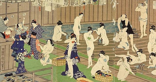 何度禁止しても復活した江戸時代の混浴 地方では昭和30年代まで続く ...