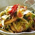 余った野菜でできる!即席キムチの作り方。〜細川芙美の「SIDE-Bクッキング」〜