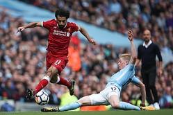 今季のPFA年間最優秀選手賞争いはサラーとデ・ブライネの一騎打ちか photo/Getty Images