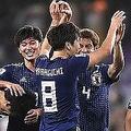 """アジア杯準優勝の日本代表、カタール戦後の""""美ロッカー""""が称賛されている【写真:Getty Images】"""