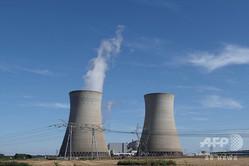 フランス中部ダンピエールアンビュリーにある原子力発電所(2019年8月23日撮影、資料写真)。(c)GUILLAUME SOUVANT / AFP
