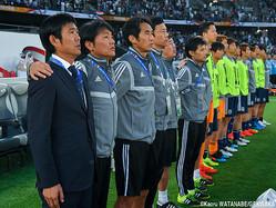 日本代表と東京五輪代表を兼任する森保一監督
