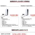 ビックカメラ、PS5をネット限定で抽選販売 2月18日20時59分まで