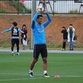 DF槙野が浦和の第2次トレーニングキャンプに合流した【写真:轡田哲朗】