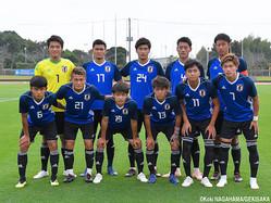 影山雅永監督率いるU-19日本代表