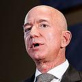 2018年9月13日、ワシントンのイベントで講演するアマゾンのジェフ・ベゾスCEO(写真=ロイター/アフロ)