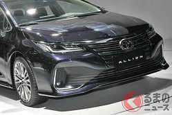 トヨタ 新型「アリオン」世界初公開! セダン市場縮小も2車種投入する狙いとは