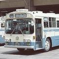 1968年に登場したアイボリーと青のデザイン。「発展した街の色との調和」を考慮
