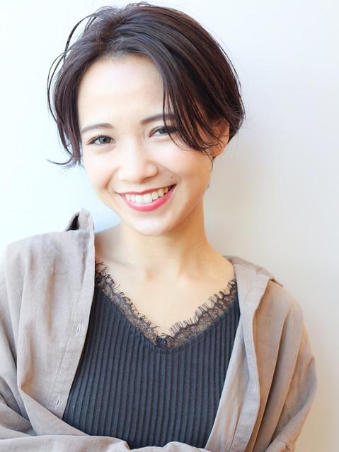 面長さんの似合わせショートヘア♡コンプレックス解消カタログ