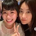 福原と夫の江選手、義姉のジャン・リガさん(@liga0601)