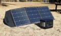 "120Wの高出力+持ち運びも便利で""コンセント不要""のABWを実現! オウルテック「ソーラーパネル120W」"