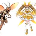 ゴキブリ専門のフリーイラスト70種が配布開始 魔法少女や戦隊ヒーローも