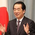 菅直人元首相は「いったん決めたのなら初心を貫くべし」と主張した(2011年6月撮影)