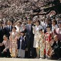 2019年の桜を見る会。安倍昭恵夫人の姿も。EPA=時事