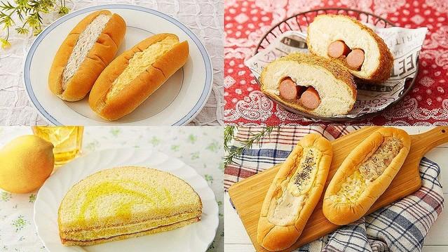 ローソン100の「夏のパン」が続々登場! コッペやソーセージドーナツなど