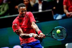 2連覇目指すモンフィスがベスト4進出。「ATP500 ロッテルダム」はシードが一人のみに