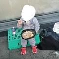 ホームレスの4歳女児、この日唯一の食事だった(画像は『Ballymun Soup Run 2021年4月11日付Facebook「our government are to blame for this」』のスクリーンショット)