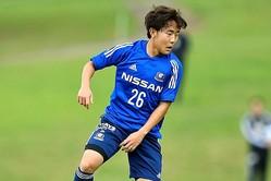第一子が誕生した渡辺は、横浜の公式サイト通じてコメントを発表した。写真:金子拓弥(サッカーダイジェスト写真部)