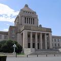 国会議事堂の正面玄関付近