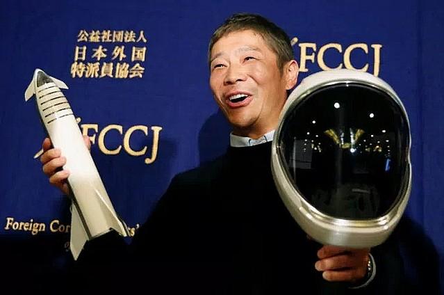 [画像] 前澤友作氏、月へ向かうStarship同乗者8人を募集開始。2023年打上げ目指す