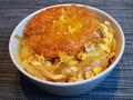 カレーパンの卵とじ丼がウマい