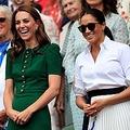 2019年7月、ともにテニス観戦を楽しむキャサリン妃&メーガン妃(画像は『Duke and Duchess of Cambridge 2019年7月13日付Instagram「The Duchess of Cambridge, @Wimbledon Patron, and The Duchess of Sussex attended the #Wimbledon Ladies' Singles Final today.」』のスクリーンショット)