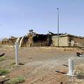 イラン中部ナタンズのウラン濃縮施設にある、損傷した倉庫とされる建物。イラン原子力庁提供(2020年7月2日公開)。(c)AFP PHOTO / HO / ATOMIC ENERGY ORGANIZATION OF IRAN