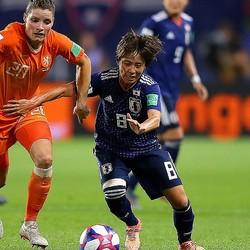 日本は岩渕の高いボールキープを軸にオランダに反撃を試みた。(C)Getty Images