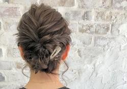暑い日にピッタリ!短い髪でもきれいにまとまる♡簡単&おしゃれなまとめ髪アレンジ