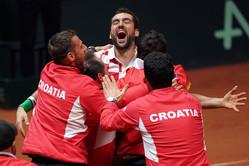 チリッチが3勝目を挙げ、クロアチアが13年ぶり2度目の優勝[デビスカップ]