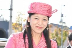 『全日本スカッシュ選手権』にお出ましになった承子さま(2019年11月17日)