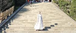 三大八幡宮の一つ、鎌倉〈鶴岡八幡宮〉へ。清々しい気持ちで、美しい参道を散歩。