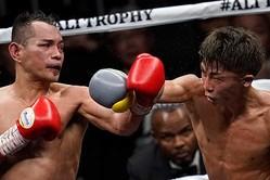 昨年11月、WBSSバンタム級決勝で井上尚弥(右)はノニト・ドネアを破った【写真:Getty Images】