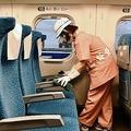 JR東海が東海道新感線の「コロナ対策」を初公開 通常清掃プラスアルファ