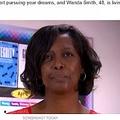 """「教師になりたい」と37歳で大学に入学したワンダさん(画像は『Tank's Good News 2021年5月13日付「""""Be The Best You Can Be""""-School Janitor Becomes Teacher At The Same School After Getting Degree」(SCREENSHOT TODAY)』のスクリーンショット)"""