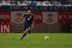 日本代表の冨安 photo/Getty Images