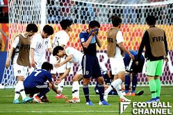 U-20ワールドカップ・ラウンド16でU-20韓国代表と対戦したU-20日本代表は0-1で敗れた【写真:Getty Images】