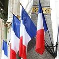 おなじみ、フランスの国旗