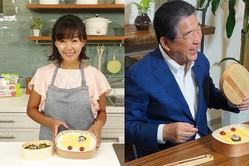 """田中律子、徳さんに感謝のお弁当!収録中の""""ガチ睡眠""""も語る「可愛すぎます」"""