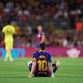 怪我続くメッシ photo/Getty Images