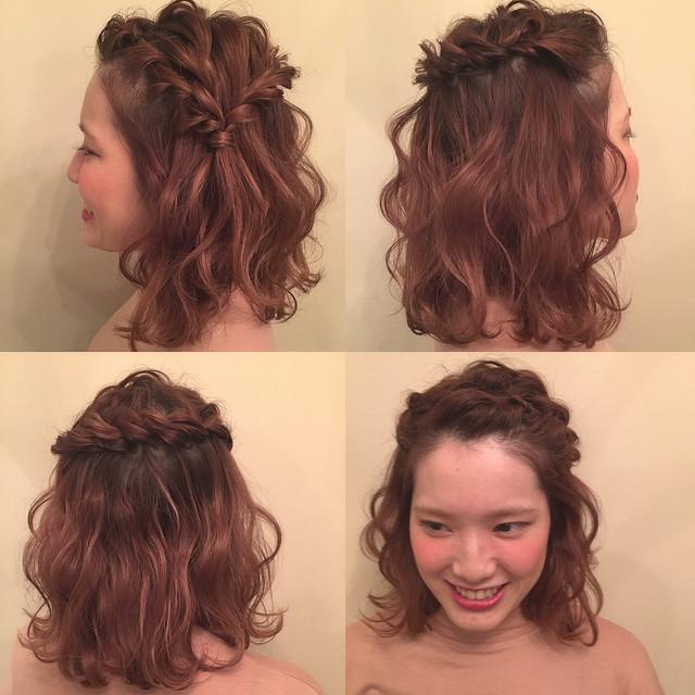いろんなシーンで使える 前髪なしのすっきりヘアアレンジ特集