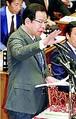 (写真)質問する志位和夫委員長=5日、衆院予算委