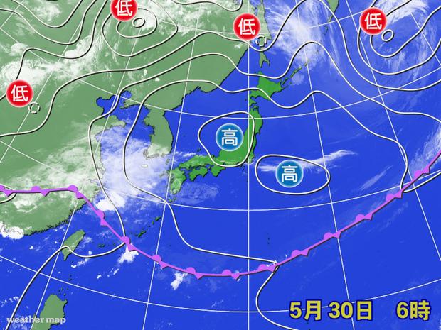 平年より1日早い九州南部の梅雨入り