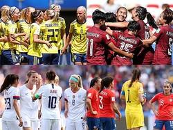 女王アメリカが連勝で決勝Tへ…タイに5発のスウェーデンも突破/女子W杯GS第2節
