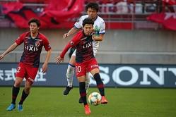 鹿島で10番を背負う安部裕葵がU−20日本代表のメンバーに選ばれた。(C)SOCCER DIGEST