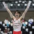 内村航平は2019年の全日本選手権では予選落ちだったが…(時事通信フォト)