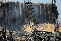大爆発があったレバノン首都ベイルートの被害の様子(2020年8月5日撮影)。(c)JOSEPH EID / AFP