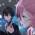 「声が変わった」と言われているゲーム部プロジェクトの道明寺晴翔(左)と桜樹みりあ(右)(YouTubeより)